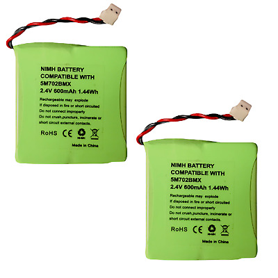 £5.80 • Buy Rechargeable Battery For BT Verve 450 410 Cordless Phone 2.4v 600mAh X 2