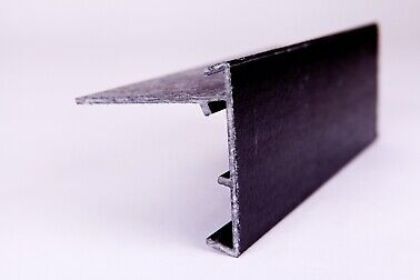 £225 • Buy  Type 4 Black GRP Roof Edge Trim 2.5m Length Pack Of 10       3-4 Day Delivery