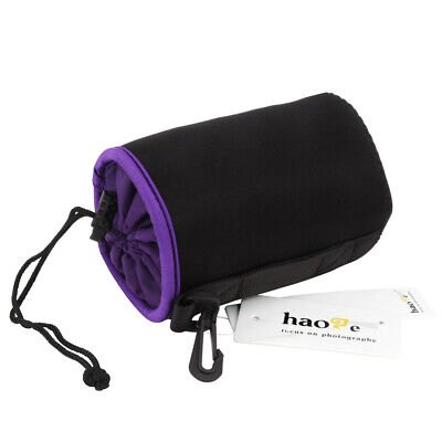AU13.48 • Buy Camera Lens Pouch Bag Soft Case For Sony 18-105mm 55-210mm 18-200mm M Size