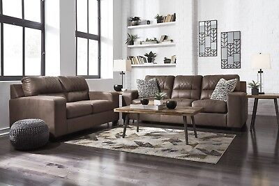 $850 • Buy Ashley Furniture Narzole Coffee Sofa And Loveseat Living Room Set