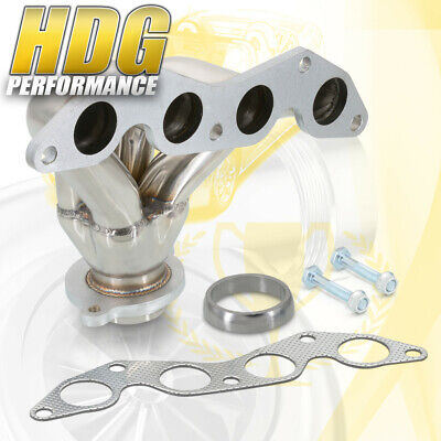 $74.50 • Buy 4-1 Stainless Steel Exhaust Header EM2 For 01-05 Civic EX 5-Speed 1.7L D17 Motor