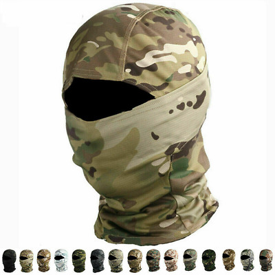 $8.49 • Buy Military Full Face Mask Windproof Headgear Tactical Hunting Camouflage Balaclava