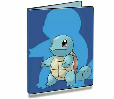 AU26.95 • Buy Squirtle Pokemon Ultra Pro Album Folder 9 Pocket Portfolio Holds 180 Cards