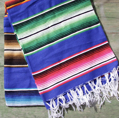 Mexican Stripey Blankets - Various Colours Serape • 19£