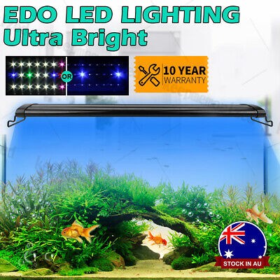AU62.99 • Buy 60-120CM Aquarium LED Lighting 1ft /2ft /3ft /4ft Marine Aqua Fish Tank Light AU