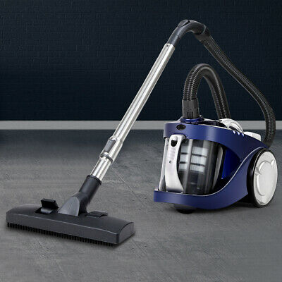 AU91.90 • Buy Devanti Bagless Vacuum Cleaner Cyclone Cyclonic Car Vac Home Office 2200W Blue