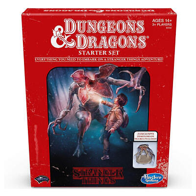 AU53.65 • Buy Stranger Things Themed Dungeons & Dragons Starter Set, Hunt For The Thessalhydra