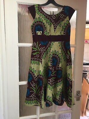 African Dress & Jacket For Girls, Never Worn, Size Not Known, Possibly Age 10 Y • 10£
