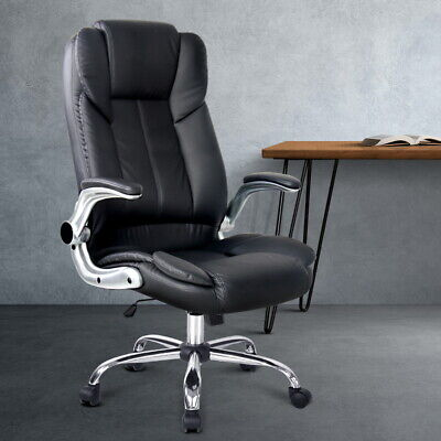 AU196.50 • Buy Artiss Office Chair Gaming Executive Computer Chairs PU Leather Seat Black