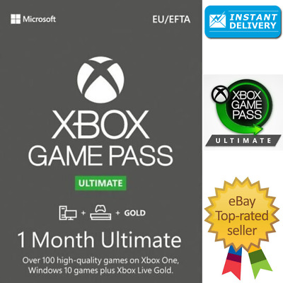 $ CDN4.47 • Buy Xbox Game Pass Ultimate + Live Gold - 1 Month Keys / Global - XBOX/PC - INSTANT