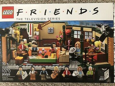 $74.95 • Buy Lego Friends Tv Show Central Perk Set 21319 Brand New Sealed Bags