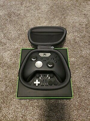 $50 • Buy Microsoft Xbox One Elite Official Wireless Controller - Black Model 1698