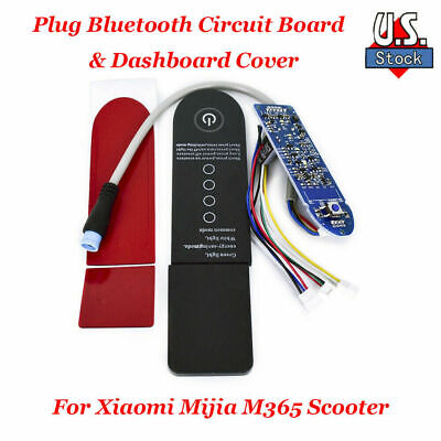 $19.45 • Buy New Plug Bluetooth Circuit Board & Dashboard Cover Fit Xiaomi Mijia M365 Scooter