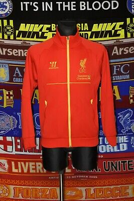 £27.99 • Buy 4.5/5 Liverpool Adults S Warrior Football Track Jacket Top Soccer .