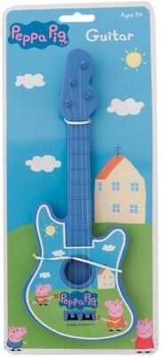 PEPPA / PEPPER PIG - Rock Guitar Toy Great Kids Children's Gift Present NEW  • 12.99£