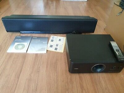 YAMAHA Sound Projector YSP-40D And Subwoofer System YST-FSW150 • 230£