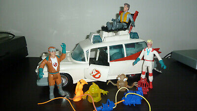 Ghostbusters Ecto 1 Car With 3 Characters,and Slimer. Good Condition. • 40£