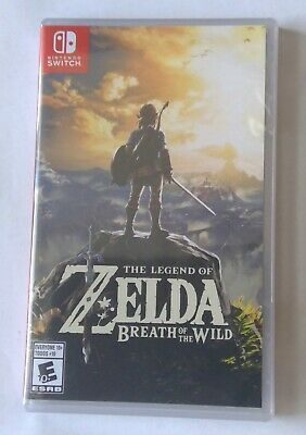 $29.30 • Buy Legend Of Zelda: Breath Of The Wild (Nintendo Switch, 2017).  NEW.  UNOPENED.