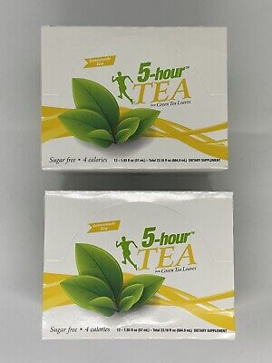 $ CDN80.30 • Buy 5 Hour Energy Extra Strength Lemonade Green Tea TWO 12 Ct Boxes Sugar Free 24 Ct