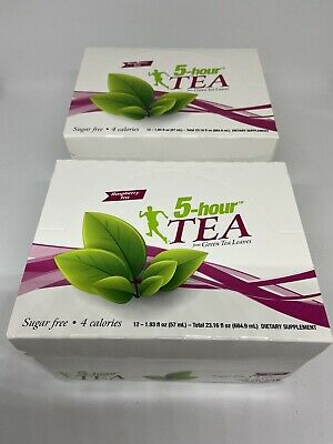 $ CDN80.30 • Buy 5 Hour Energy Extra Strength Raspberry Tea TWO 12 Ct Boxes Sugar Free 24 Ct