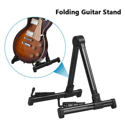 $ CDN20.37 • Buy Professional Guitar Floor Stand Frame Universal Fits Acoustic Electric Bass