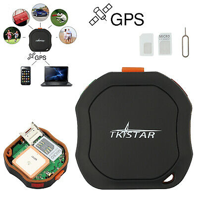 Mini Real Time Tracking Device Waterproof Car GPS Tracker Personal Spy Vehicle • 40.49£