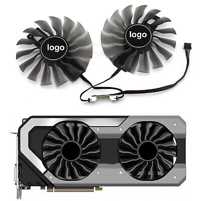 $ CDN30.95 • Buy GAA8S2U For PALIT GeForce GTX 1070 Ti 8GB JetStream Graphics Video Cooling Fan