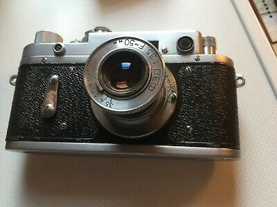 Rangefinder Camera ZORKI 2C Camera With 50mm Lens Nice • 55£