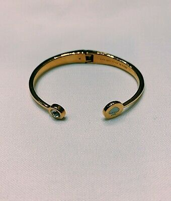 $ CDN65 • Buy Authentic Kate Spade Flex Cuff W/ Original Pouch - Gold/white