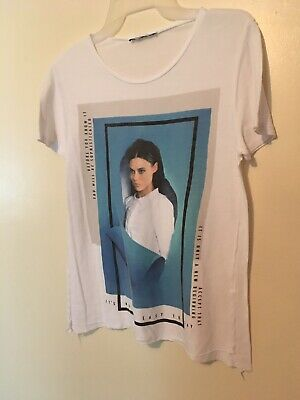 $15.98 • Buy Zara T Shirt Collection Graphic Woman With Inspiration Sayings  Sz Small