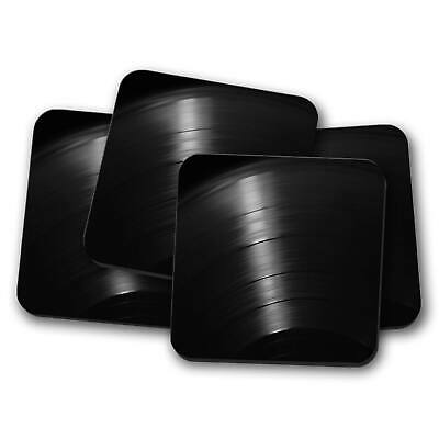 Grooves Of The Vinyl Record 4 X Coaster Set • 14.95£