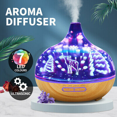 AU40.99 • Buy Aroma Diffuser Aromatherapy Ultrasonic Humidifier Essential Oil Purifier Deer