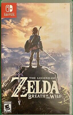 $50 • Buy The Legend Of Zelda: Breath Of The Wild (Nintendo Switch, 2017) Preowned
