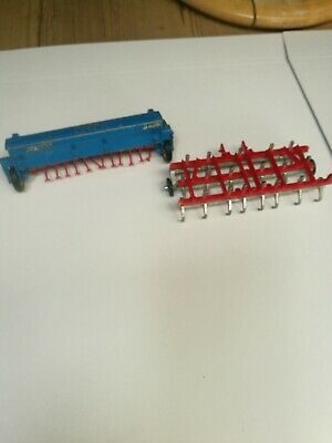 Britains Nordsten Seed Drill And Plough As Photos • 5.99£
