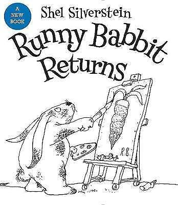 Runny Babbit Returns: Another Billy Sook By Shel Silverstein.  #36528 • 7.49£
