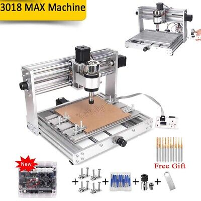 Engraver 3018 Pro MAX GRBL Control With 200w Spindle 3 Axis Milling Machine DIY • 343.46£