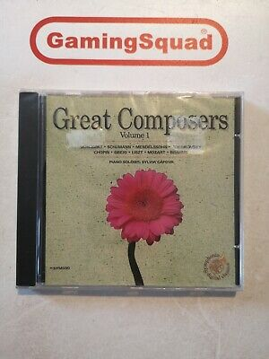 Great Composers Volume 1 NEW CD, Supplied By Gaming Squad • 9.95£