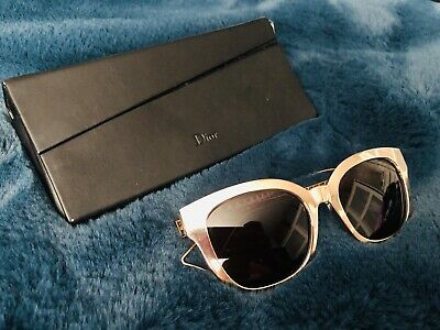 Christian Dior Ladies Sunglasses Gold Frames Pink Lenses • 30£