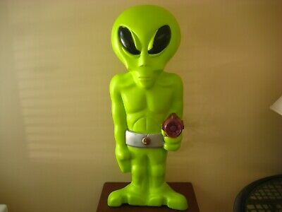 $195 • Buy HTF General Mold Halloween 36  Green ALIEN With Laser Lighted Blow Mold
