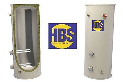 £349 • Buy HBS Direct Unvented Cylinder  90 120 150 180 210 250 Litre