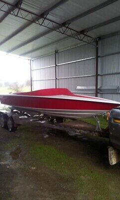 AU11500 • Buy Kaos 1900 Light Weight Race Hull 300 Hp Rated New With Trailer  Cost $20k New