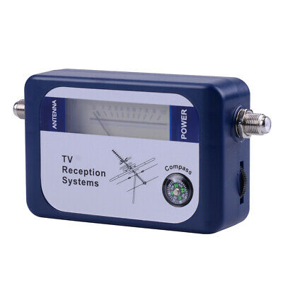 DVB-T Finder Digital Aerial Terrestrial DT TV Antenna Signal Strength Meter Mn • 10.10£