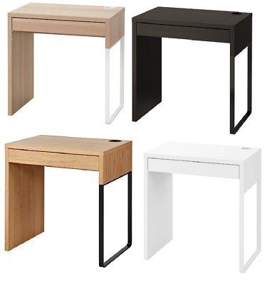 IKEA NEW MICKE DESK Drawer Computer Desk Home Office Workstation 4 Colours New • 54.99£
