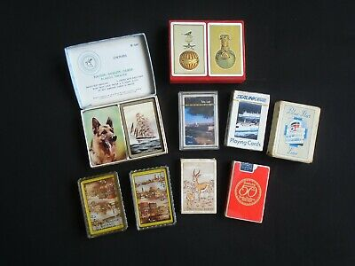 Vintage Playing Cards Sealed Collection Board Parlour Games Collectible Bezique • 30£