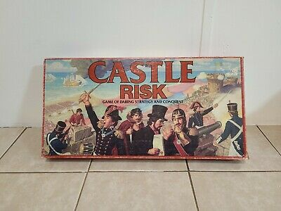 $9.99 • Buy Vintage Castle Risk Board Game 1986 Parker Brothers Military Strategy INCOMPLETE