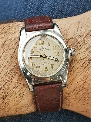 $ CDN1259 • Buy 1940's Vintage ROLEX 2940 Bubble Back Stainless Men's Watch - Automatic