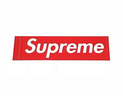 $ CDN3.75 • Buy Supreme Red Box Logo Sticker 100% Authentic