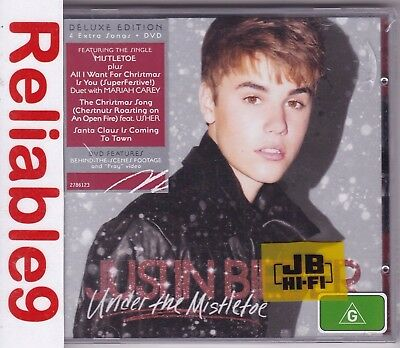 AU21.95 • Buy Justin Bieber - Under The Mistletoe Deluxe CD+DVD Sealed - 2011 Island Australia