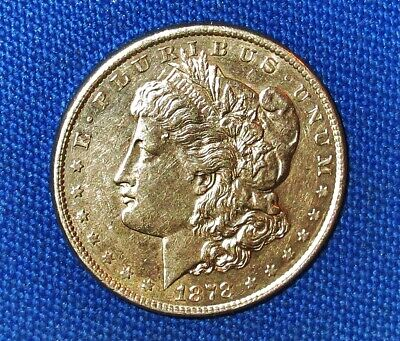 $69.99 • Buy 8 TAIL FEATHERS! FIRST YEAR ISSUED 1878 MORGAN Silver DOLLAR! 1ST Die Pair VAM 9
