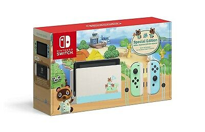 AU610 • Buy Nintendo Switch Animal Crossing New Horizons Special Edition Console